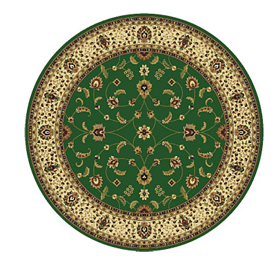 Rug One Imports Royal Tradition 8 Round Khaki 42023