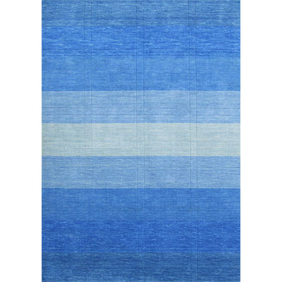 Rug One Imports Striations 8 x 10 Blue Sea HL63