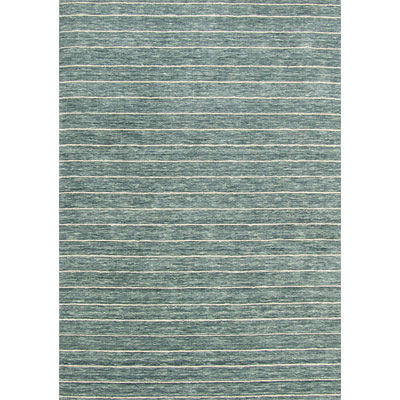 Rug One Imports Striations 8 x 10 Light Blue HL5