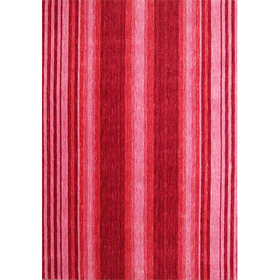 Rug One Imports Striations 8 x 10 Scarlet HL1