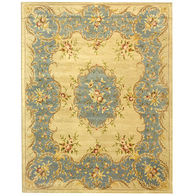 Safavieh Bergama 10 x 14 Ivory/Light Blue BRG166A-10
