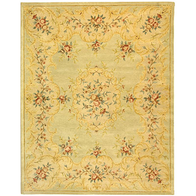 Safavieh Bergama 10 x 14 Light Green/Beige BRG166B-10