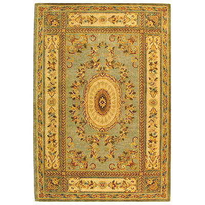 Safavieh Bergama 10 x 14 Light Blue/Ivory BRG174A-10