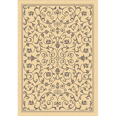 Safavieh Courtyard 5 Round Natural/Brown CY2098-3001-5R