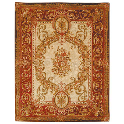 Safavieh Empire 10 x 14 Light Gold/Red EM415A-10