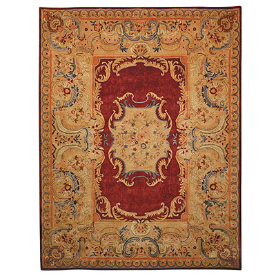 Safavieh Empire 6 Round Burgundy/Gold EM422A-6R
