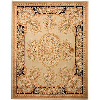 Safavieh French Tapis 9 x 12 Beige/Black FT225A-9