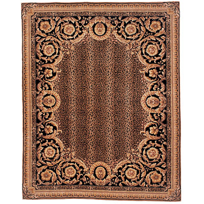 Safavieh Naples 6 Round Black/Gold NA712A-6R