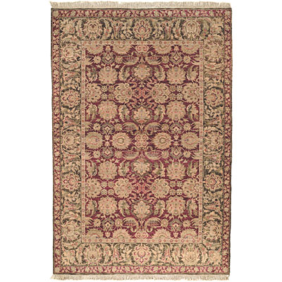 Safavieh Old World 6 Round Burgundy/Green OW115A-6R