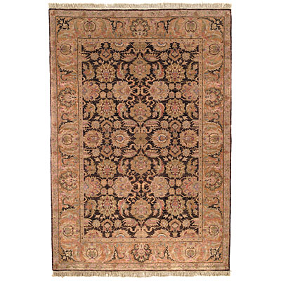 Safavieh Old World 6 Round Dark Brown/Gold OW115B-6R