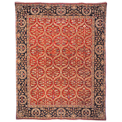 Safavieh Old World 5 x 8 Red/Navy OW119A-5