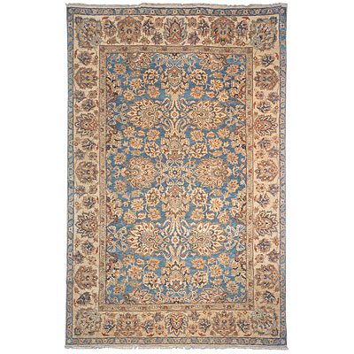 Safavieh Old World 4 x 6 Blue/Light Gold OW122A-4