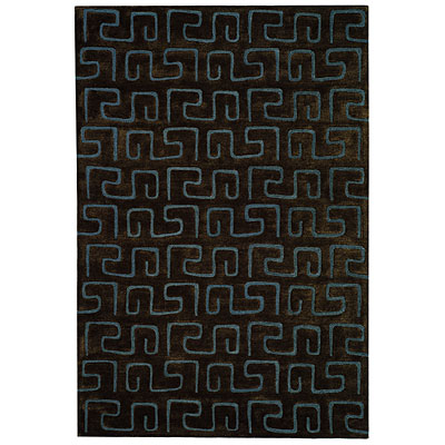 Safavieh Soho 4 x 6 Brown/Light Blue SOH416B-4