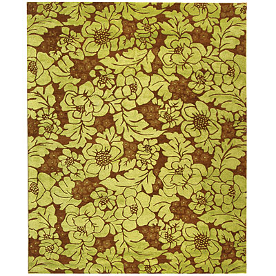 Safavieh Soho 8 x 10 Lime/Brown SOH611B-8