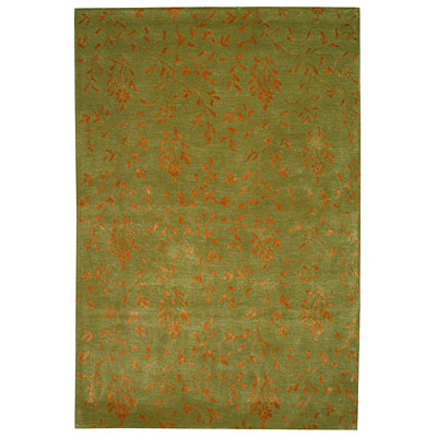 Safavieh Soho 8 x 10 Light Green/Rust SOH418C-8