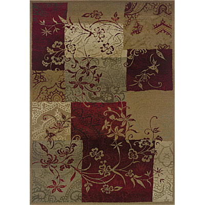 Sphinx by Oriental Weavers Genesis 4 x 6 Red 80X