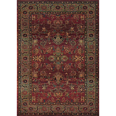 Sphinx by Oriental Weavers Kharma 3 x 9 Red 836C