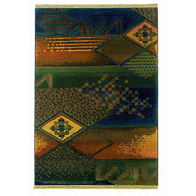Sphinx by Oriental Weavers Kharma II 2 X 8 Blue 618F