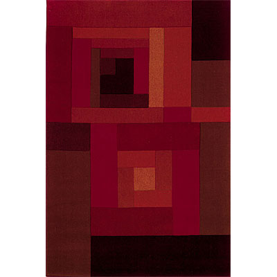 Sphinx by Oriental Weavers Lava 4 x 5 Red 058C