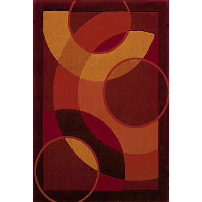 Sphinx by Oriental Weavers Lava 2 x 8 Red 688C