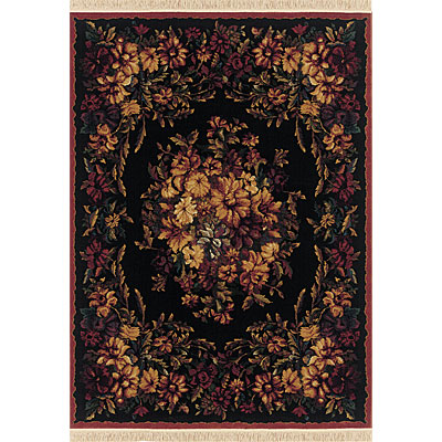 Sphinx by Oriental Weavers Taba 6 x 8 Taba Victoria Black 062C1