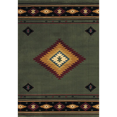 Sphinx by Oriental Weavers Taba 6 x 8 Taba Shiloh Green 187C1