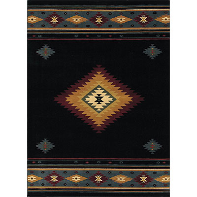Sphinx by Oriental Weavers Taba 6 x 8 Taba Shiloh Black 187C2