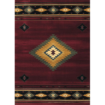 Sphinx by Oriental Weavers Taba 6 x 8 Taba Shiloh Red 187C4