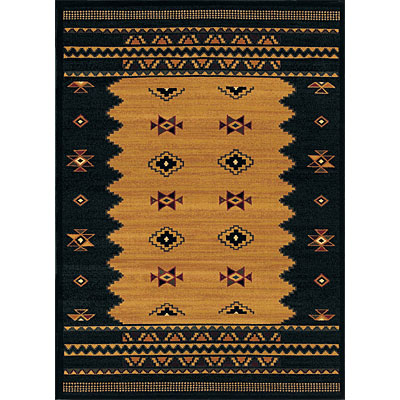 Sphinx by Oriental Weavers Taba 6 x 8 Taba Shawnee Gold Black 550C3