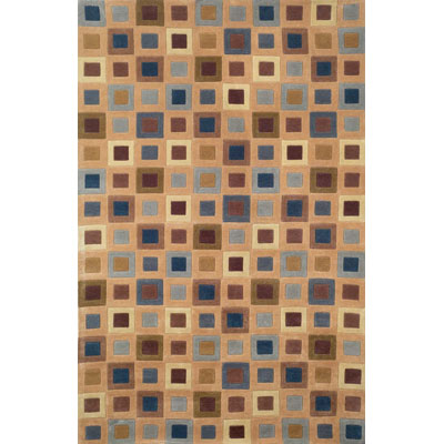 Trans-Ocean Import Co. Amalfi 2 x 8 Runner Square In Square Teak 1966/33