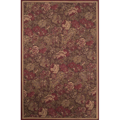 Trans-Ocean Import Co. Capri 8 x 10 Tapestry Red 1246/24