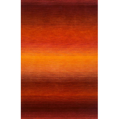 Trans-Ocean Import Co. Ombre 4 x 6 Stripes Sunrise 9620/18
