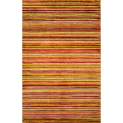 Trans-Ocean Import Co. Petra 8 x 10 Stripe Sunset 9048/18