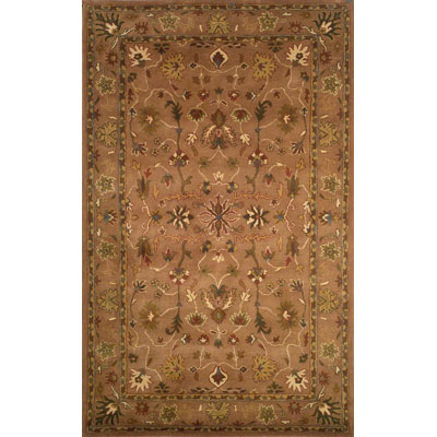 Trans-Ocean Import Co. Petra 8 x 10 Oushak Brown 9062/19