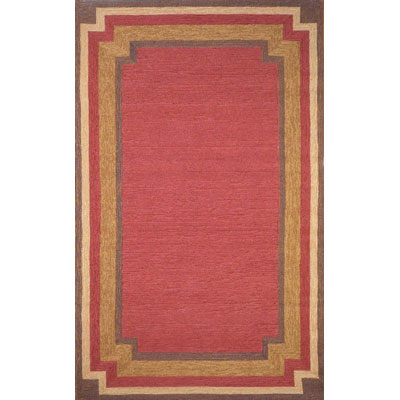 Trans-Ocean Import Co. Ravella 5 x 8 Border Red 1905/24