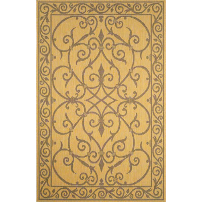 Trans-Ocean Import Co. Terrace 8 x 8 Square Wrought Iron Natural 1708/12
