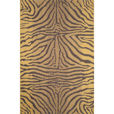 Trans-Ocean Import Co. Terrace 8 x 8 Square Zebra Brown 1712/19