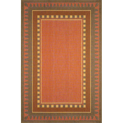 Trans-Ocean Import Co. Terrace 5 x 7 Border Terracotta 1716/24