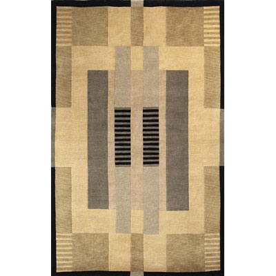 Trans-Ocean Import Co. Tribeca 2 x 8 Runner Moderne Neutrals 1872/12