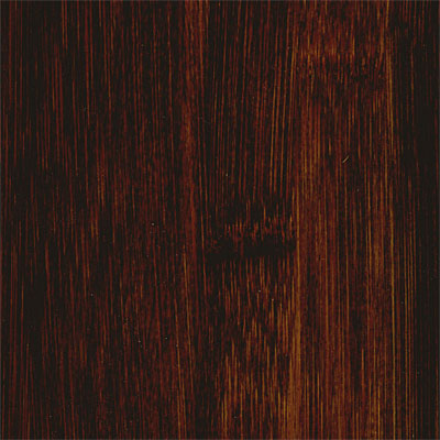 Hawa Distressed Solid Bamboo (Stained) Carbonized Horizonal Black HBF-HSC301