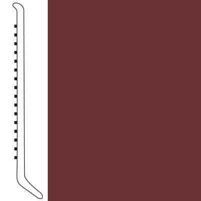 Forbo Wallbase Cove 6 Inch Merlot