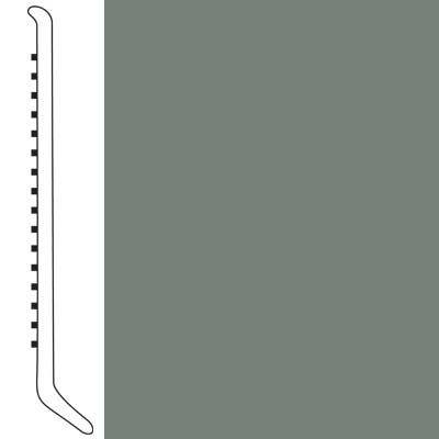 Forbo Wallbase Cove 6 Inch Sill Green