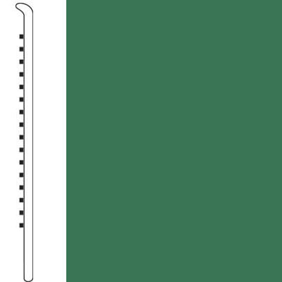 Forbo Wallbase Straight 4 Inch Meadow Green