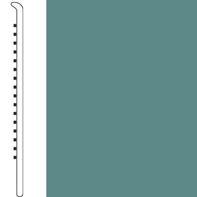 Forbo Wallbase Straight 4 Inch Miami Green