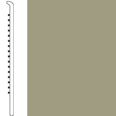 Forbo Wallbase Straight 4 Inch Olive Harvest