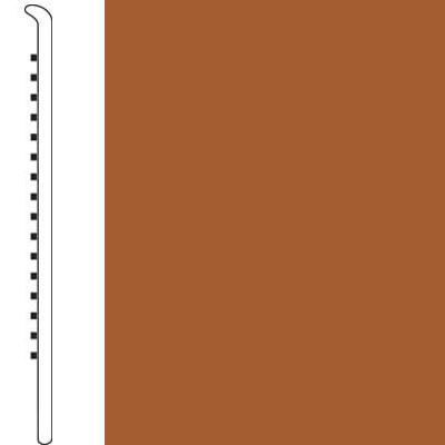 Forbo Wallbase Straight 4 Inch Rust