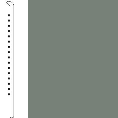 Forbo Wallbase Straight 4 Inch Sill Green