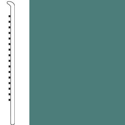 Forbo Wallbase Straight 4 Inch Teal