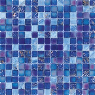Adex USA Glass Mosaic - Exotic Blue Sands ADXG20902