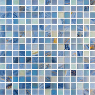 Adex USA Glass Mosaic - Exotic Blue Seas ADXG20903